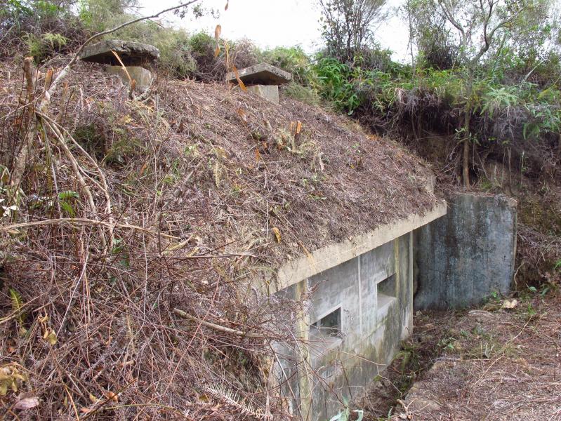 二戰日軍在港軍事設施鹿頸槍堡群 港大呼政府重視保育