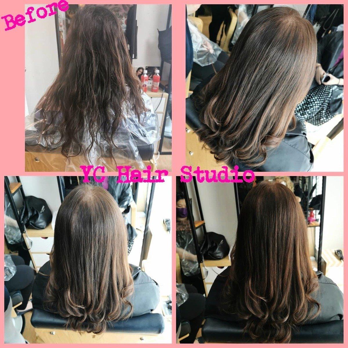 Yoanna分享,對於客人的要求,她儘量滿足,但達不到效果時她寧願放棄不做,只要她經手做的,就要做到客人滿意。(YC Hair Designer Facebook)