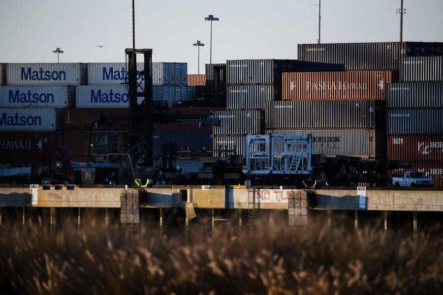 美國1月與中國貿易逆差連續兩個月收窄