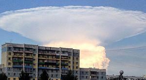 核彈爆炸? 俄小鎮現「蘑菇雲」嚇壞居民