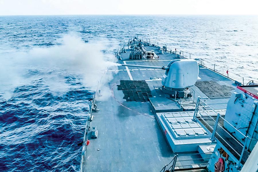 中共軍機騷擾台海策略 騎虎難下