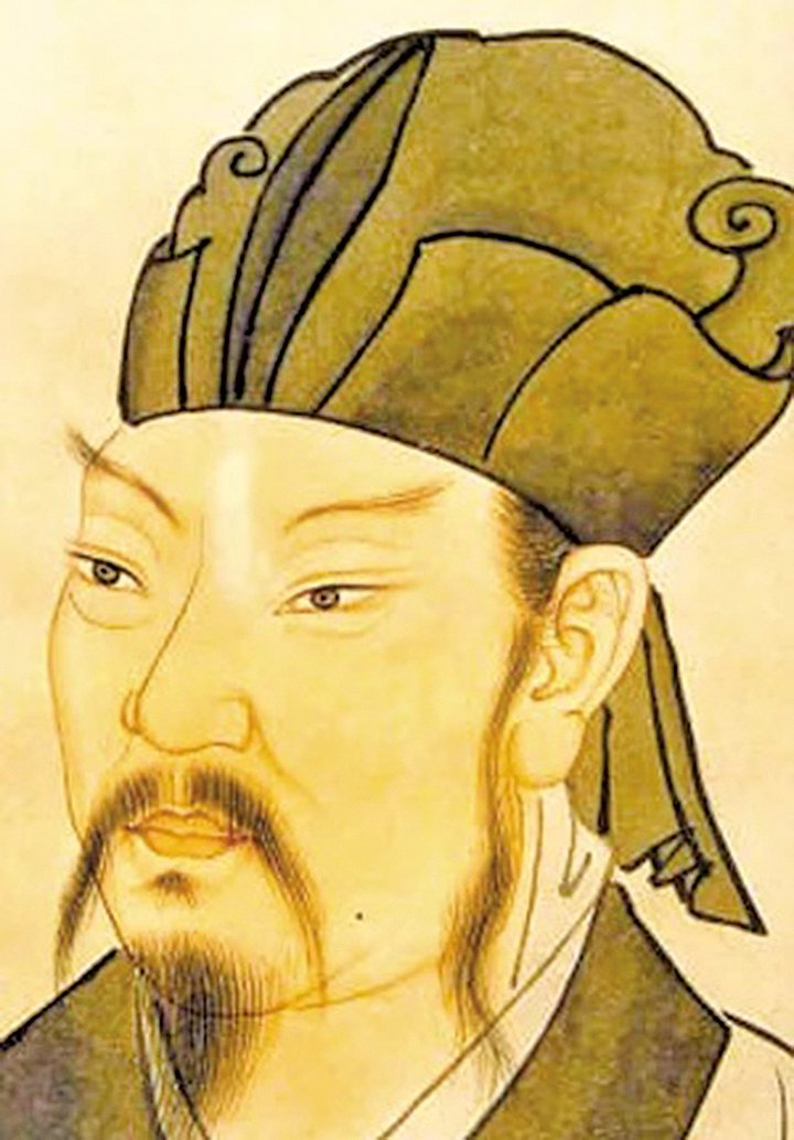 韓愈的畫像(維基共享資源/人間正道)