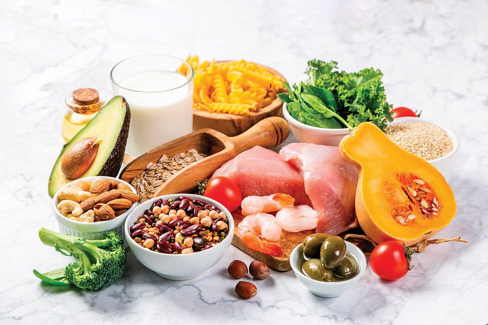 地中海飲食。(Shutterstock)