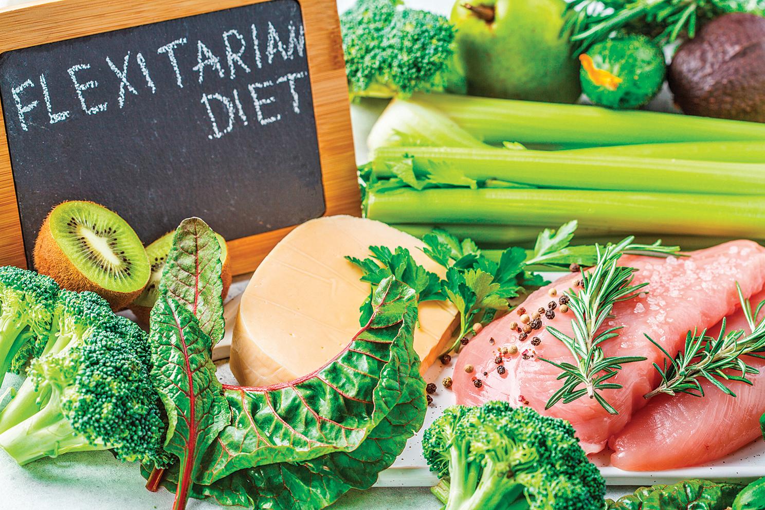 彈性素食飲食。(Shutterstock)