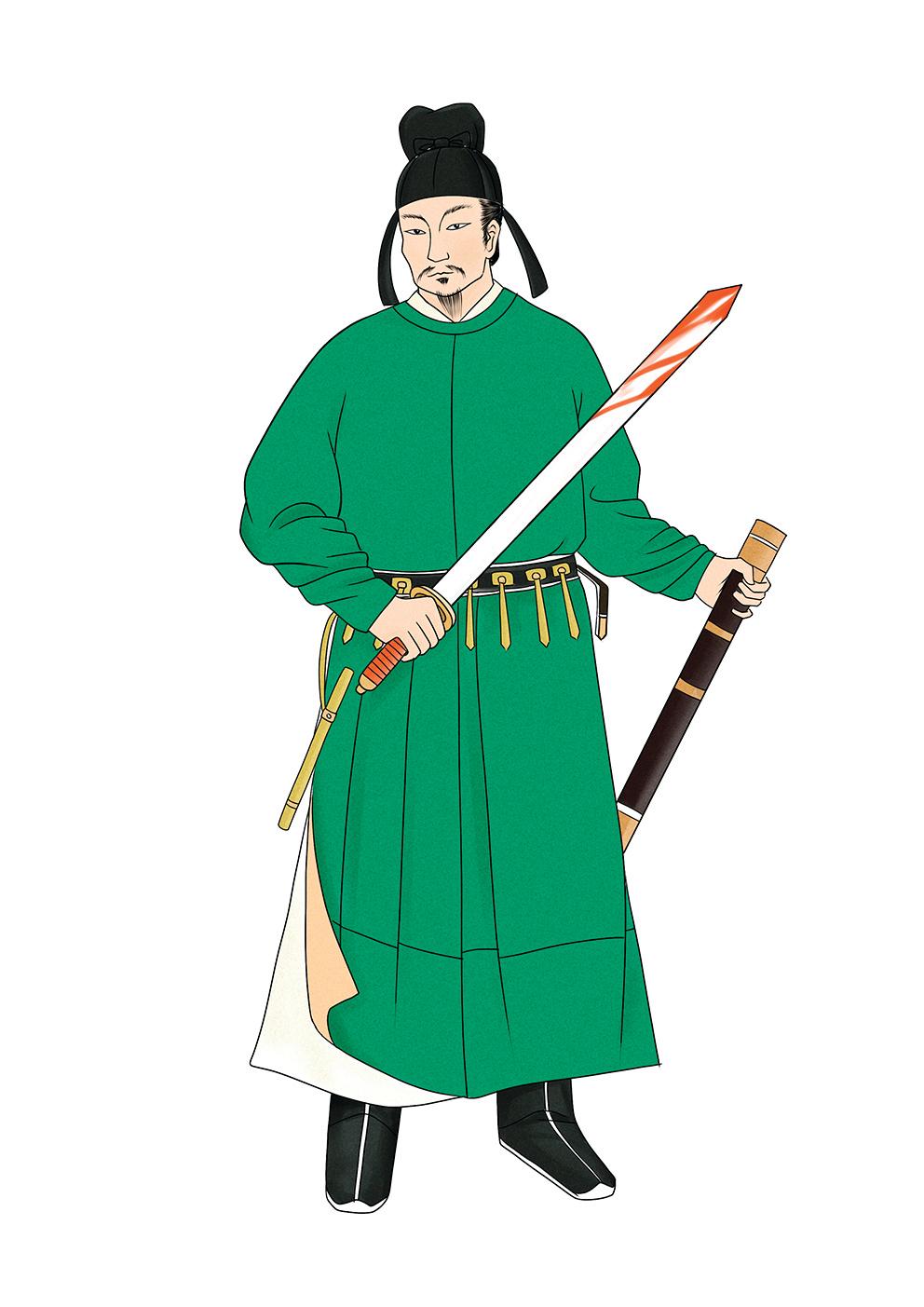 宇文化及 (圖/新唐人電視台)