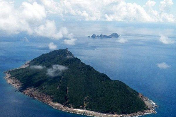 中共實施「海警法」後,中日雙方在釣魚台(日名:尖閣諸島)的事態開始升級。圖爲釣魚台。(JIJI PRESS/AFP)