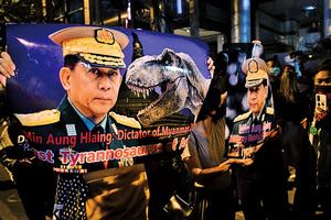 緬甸持續血腥鎮壓 美制裁軍頭子女