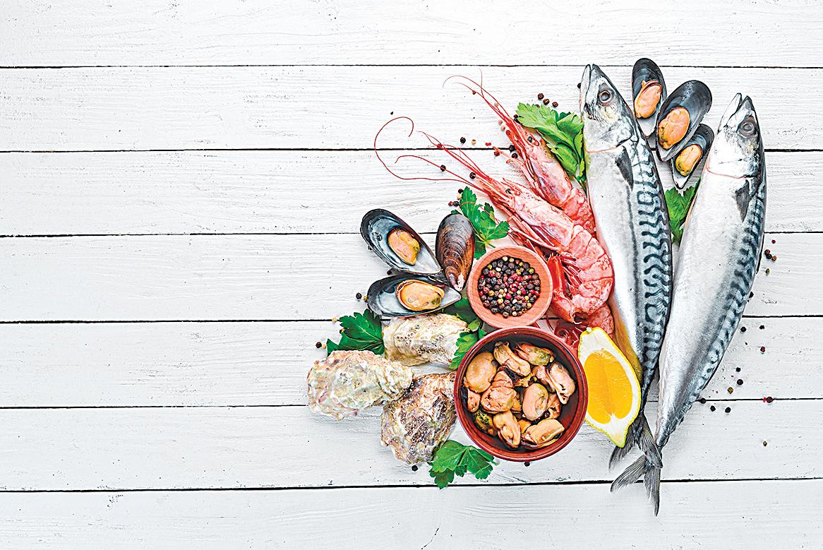 多吃魚、蝦、生蠔等富含核酸的食物,可豐潤肌膚。