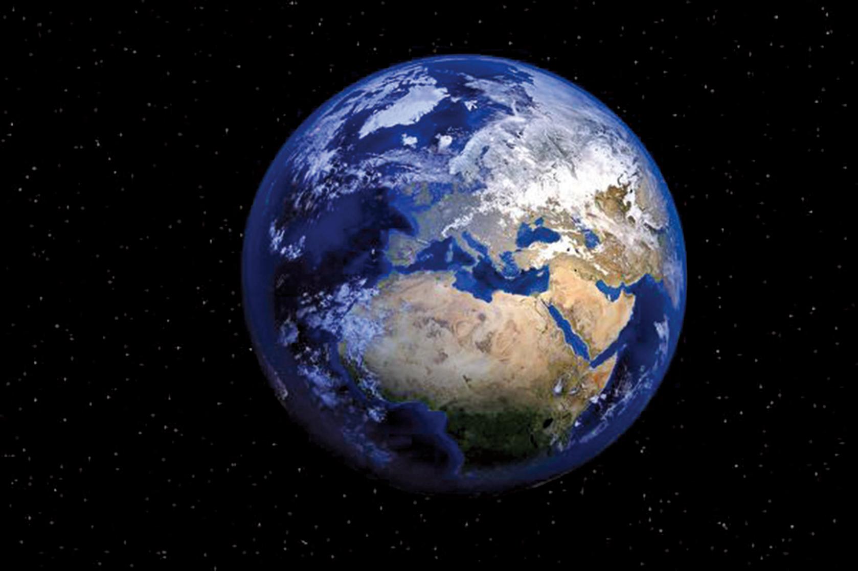 澳洲國立大學的研究顯示,地球內部還存在第五層結構。此為地球的示意圖。(Pixabay)