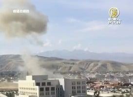 吉爾吉斯中共使館發生爆炸