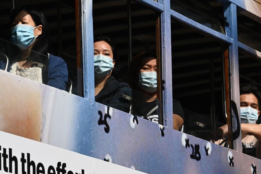 香港昨(3月16日)公佈2月失業率為7.2%。(PETER PARKS/AFP via Getty Images)