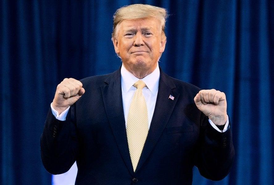 特朗普獲「美國最偉大總統」殊榮 仍是超級助選人