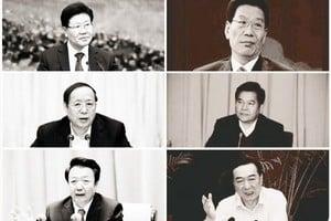 六省一把手兩天內更換 中共政治版圖大變