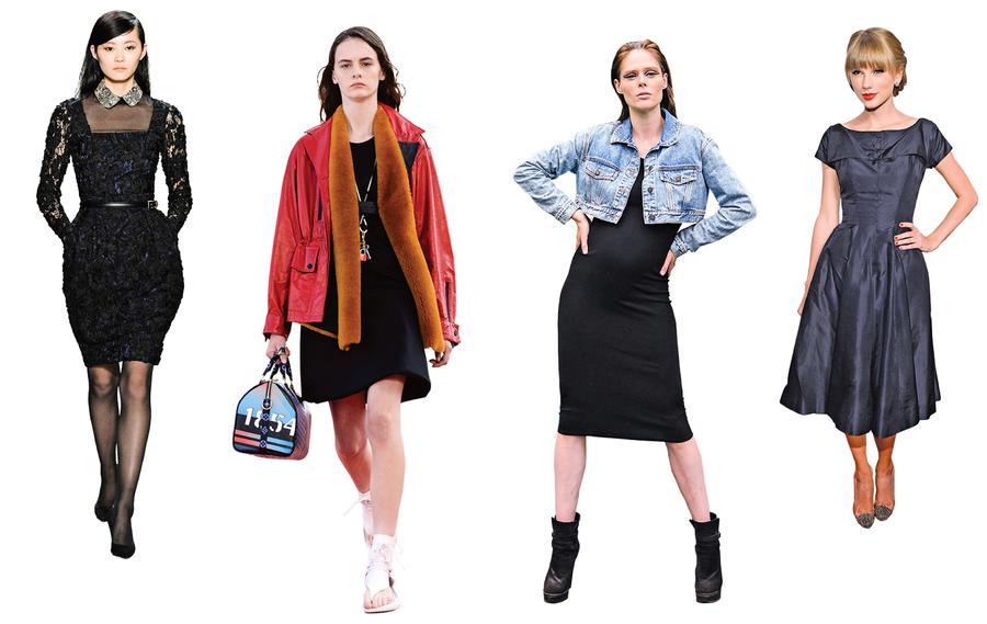 經典小黑裙 盡顯女性時尚