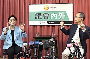 曾鈺成承認選舉改制非進步