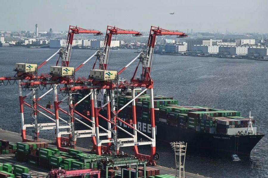 日本2月出口年降4.5% 貿易順差遜預期