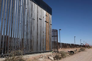 拜登凍結邊境牆資金 四十一議員要求評估