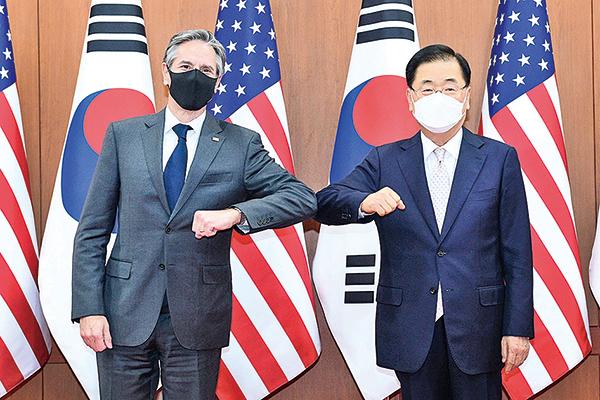 為中美會談定調 美高層訪韓重申對中共強硬