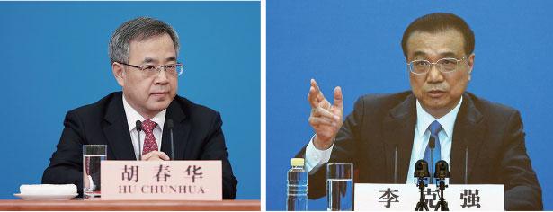 有港媒放風,胡春華很可能接替李克強成為國務院總理。(Lintao Zhang/Getty Images)