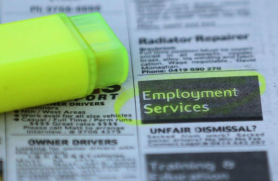 澳2月份失業率降至5.8% 就業總數破1300萬