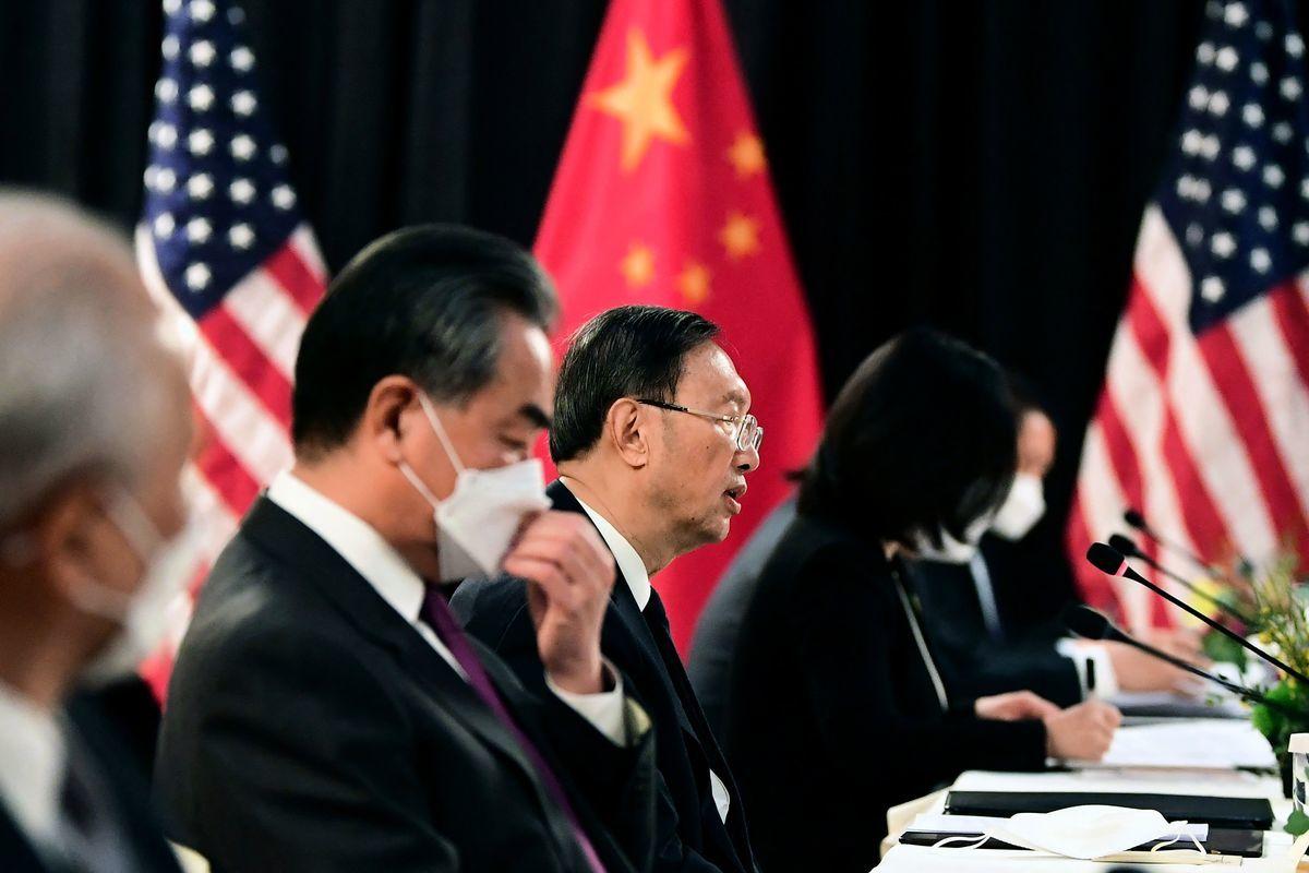 美國國務院亦在聲明中批評,中方代表的開場發言違反2分鐘發言時間上限,質疑其譁眾取寵。(FREDERIC J. BROWN/POOL/AFP )