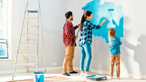 善用技巧刷油漆也能刷得很專業!