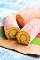 簡單做蛋糕捲 鬆軟甜香的砂糖雞蛋糕