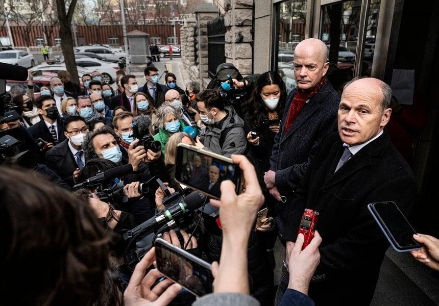 【人質風波】中共今閉門審理康明凱  26國領事被拒旁聽