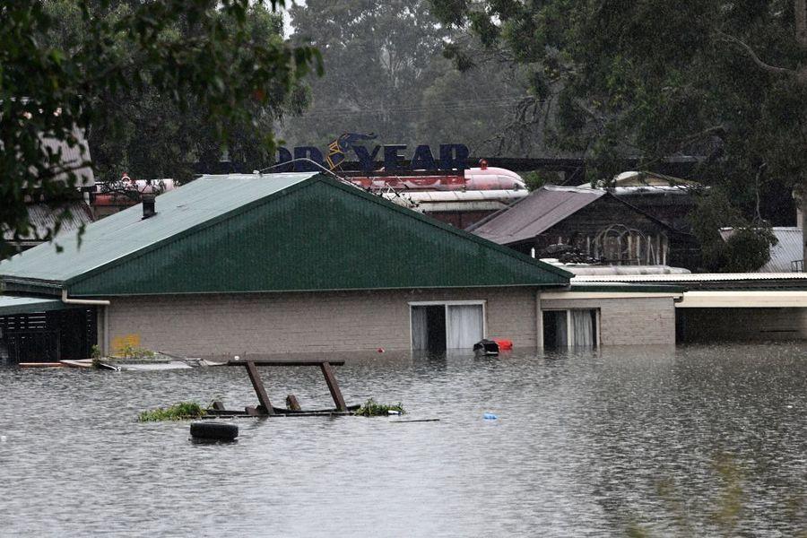 澳洲連日暴雨滂沱洪災泛濫 數千人撤離家園