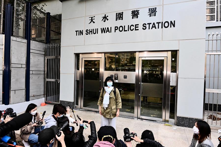 八名港人遣返香港 鄒幸彤批警方拒向家屬交代情況