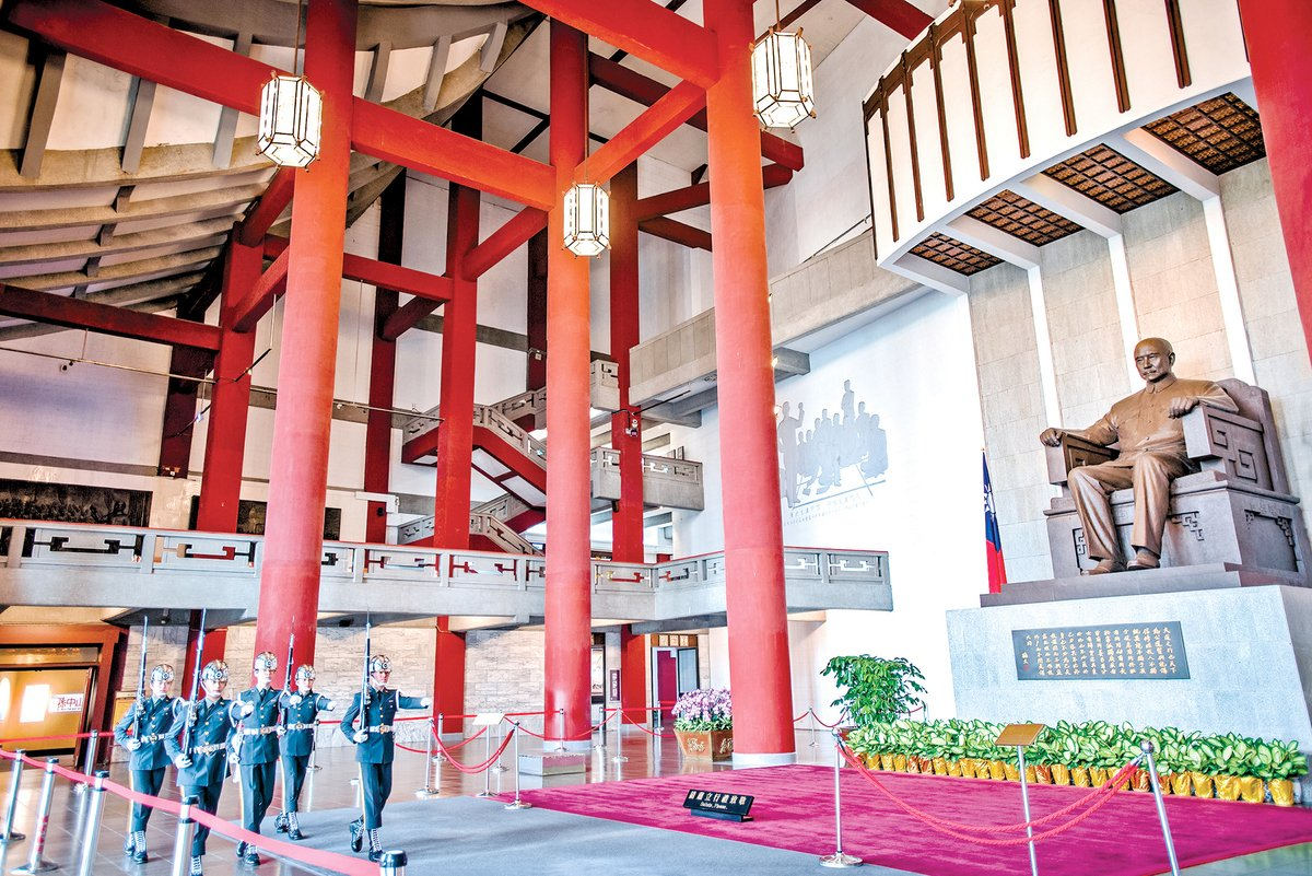 台灣台北國立國父紀念館。(Shutterstock)