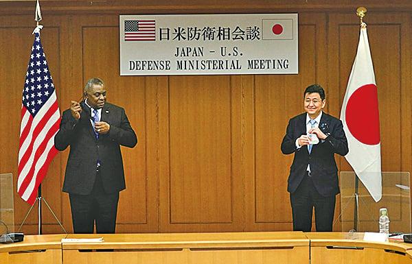 台海若爆衝突 日防長:自衛隊將協助美軍