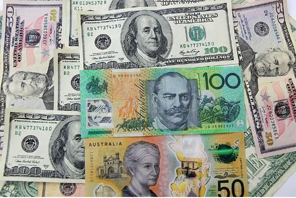 在過去一周,澳元/美元價格在0.78美元下方波動,但沒有出現大的震盪。(陳明/大紀元)