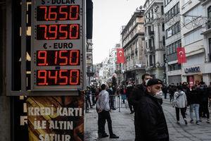 通脹殺到加上內部矛盾 土耳其股市急瀉9.8%