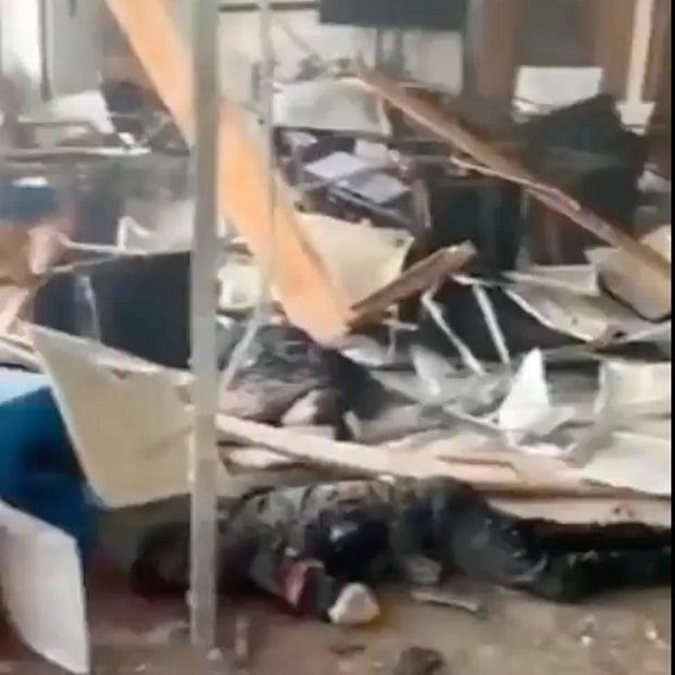 廣州番禺村委會被炸 多人傷亡