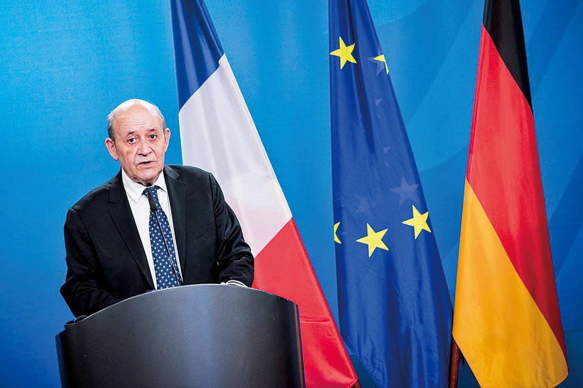 法國外交部宣佈,將召見中共駐法大使盧沙野,因為中共大使館一再對法國議員和研究人員進行侮辱和威脅。(AFP)