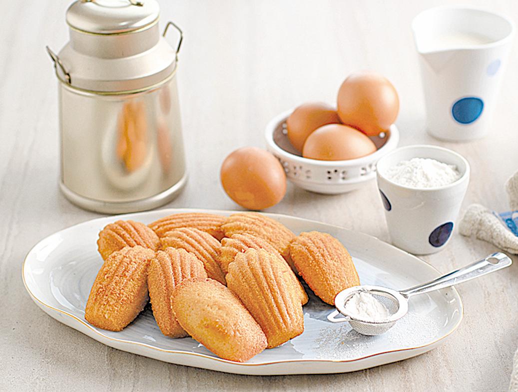 法國歷久不衰的國民甜點「瑪德蓮」。