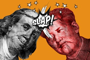 【財商天下】美債發狂股災起 中美打金融戰?