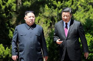 習近平金正恩互傳口信 北韓發射導彈 朝軍異動
