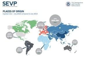 美國際學生人數111萬 中國留學生32萬居首