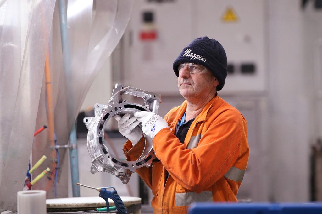 IHS Markit昨(3月24日)公佈3月份澳洲製造業PMI為57.0,反映製造業商業活動正在擴張。(Michael Dodge/Getty Images)
