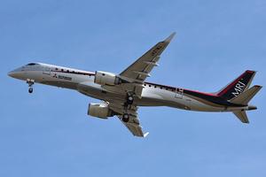 日MRJ客機試飛中空調連出故障 原因未明