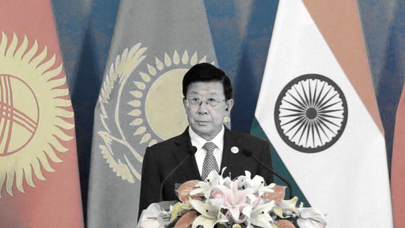 中共公安部部長趙克志。(JASON LEE/AFP via Getty Images)