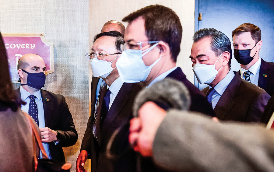 中美會談折射出 中共外交系統內鬥