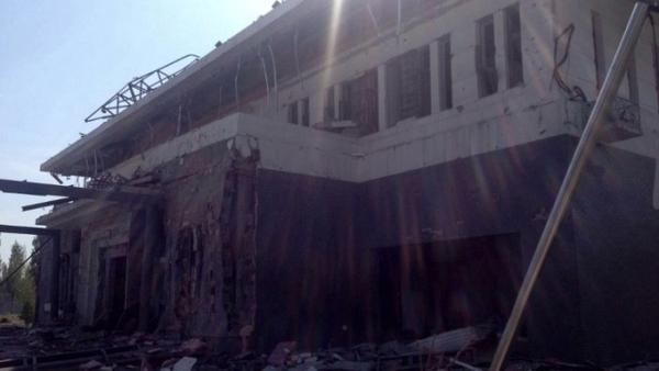 8月30日早晨,一輛攜帶炸彈的汽車衝進中共駐吉爾吉斯大使館,發生爆炸。(網絡照片)