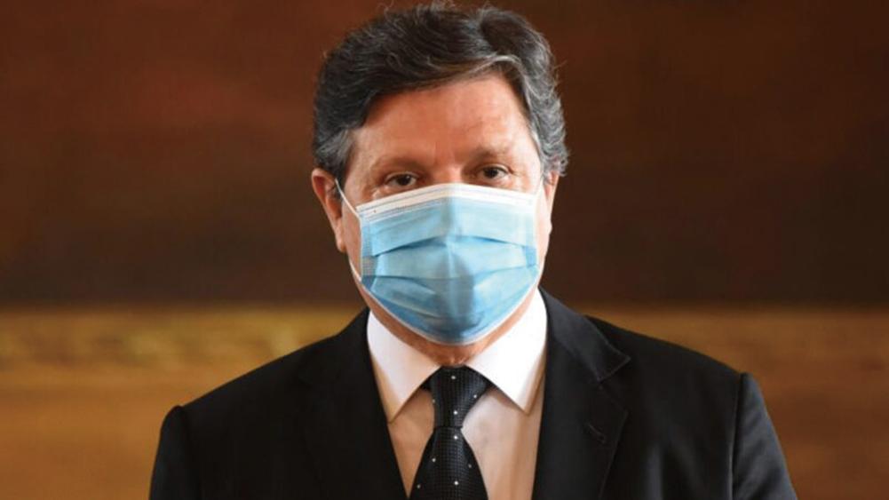 巴拉圭外交部長阿瑟維多(Euclides Acevedo)。(NORBERTO DUARTE/AFP via Getty Images)