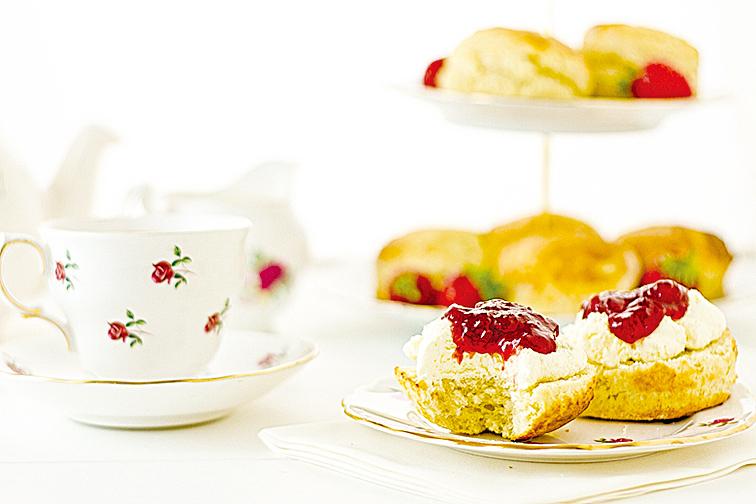 美味的下午茶能轉換心情,讓人享受難得的時光。