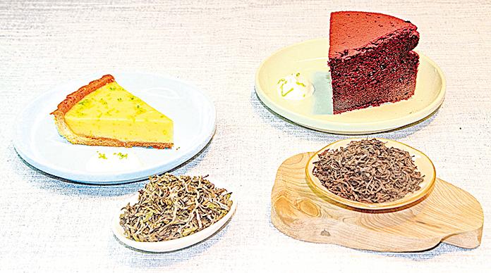 淺色茶湯搭配淺色甜點,深色茶湯搭配深色甜點。