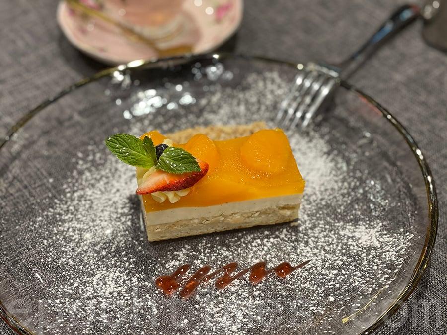 橘子白朱古力淡芝士蛋糕。(Siu Shan提供)