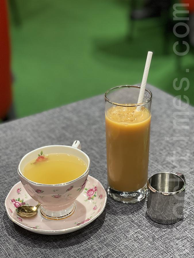 薑茶、柚子蜜。(Siu Shan提供)